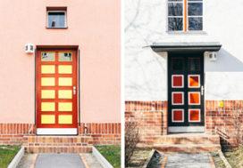 Kleurrijke architectuur