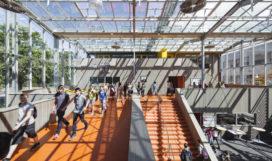 Project van de Dag: Beatrix College Tilburg door Architecten|en|en