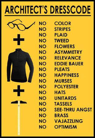 Opinie dresscode zwart