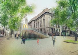 Ontwerpvoorstel McDonalds Coolsingel Rotterdam