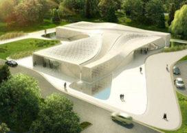 Update: Crematorium voor alle religies door Asymptote, NY