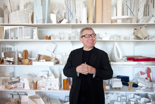 Daniel Libeskind - opinie dresscode zwart