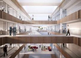 Nieuwbouw hoofdkantoor EATC op vliegbasis Eindhoven