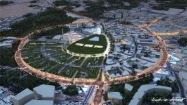 Erick van Egeraat ontwerpt stadscentrum Unaizah, SA