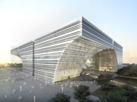 GMP wint prijsvraag Changzhou Culture Center