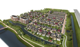Start bouw Park Hoog Lede Vlaardingen