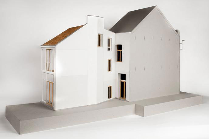 House extension Mortsel, Belgie door Bovenbouw Architectuur Foto Karin Borghouts. Opinie Maatwerk Harm Tilman