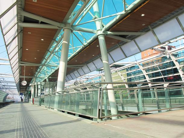 Station Houten geopend