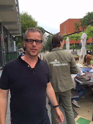 Joost Hovenier, jury Stylos Owee Akuma Mabouwka Kooien Bouwkunde