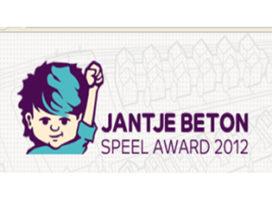 Inzenden Jantje Beton SpeelAward 2012