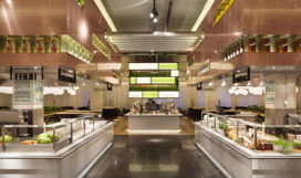 ARC Inzending: The Kitchen restaurant in de Bijenkorf Eindhoven door Concrete