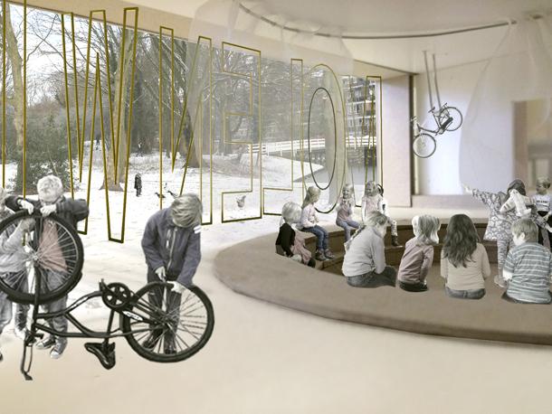 Korth Tielens toont aan dat in het bestaande gebouw nieuwe onderwijskundige visies goed kunnen worden ingepast.
