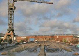 Kraan op NDSM-terrein Amsterdam wordt designhotel