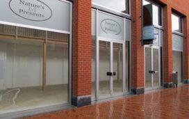 Winkels worden opgeleverd voor leegstand