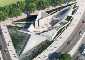 Libeskind huldigt Canadese Holocaust-slachtoffers