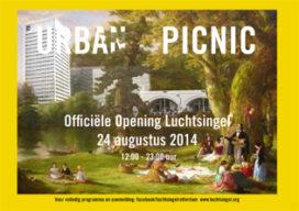 'Urban picnic' viert opening Luchtsingel Rotterdam