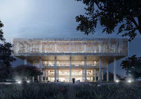 Mecanoo ontwerpt Bibliotheek Tainan, Taiwan