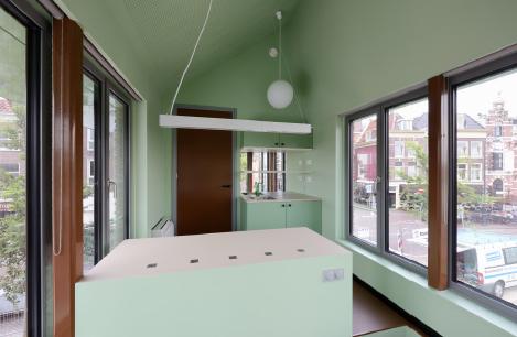 Melkhuisje Haarlem door Marjolein van Eig