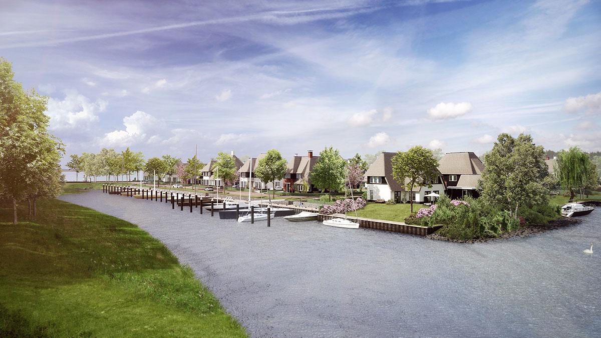 Villawijk Naardereiland nabij Gooimeer_EVE Architecten_ODIN
