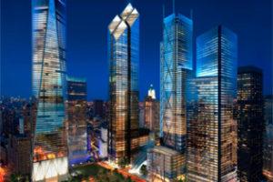 Concrete ontwerpt Food Courts WTC NY