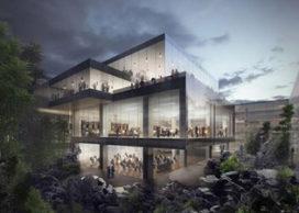 Ole Scheeren toont ontwerp Guardian Art Center in Beijing