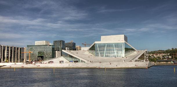 Oslo Opera House _ Vakantiekiekje
