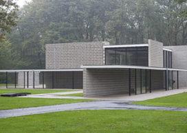 Rietveld-paviljoen klaar voor gebruik