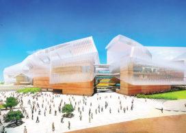 Nieuw stadion San Diego Chargers van Populous