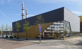 Gymzaal Slaghekstraat in Rotterdam door Koning Ellis architecten
