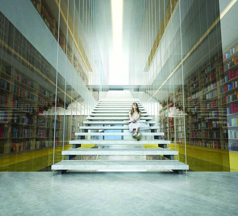 Render Ster van de Week - Bibliotheek in Bulgarije door TheeAe LTD