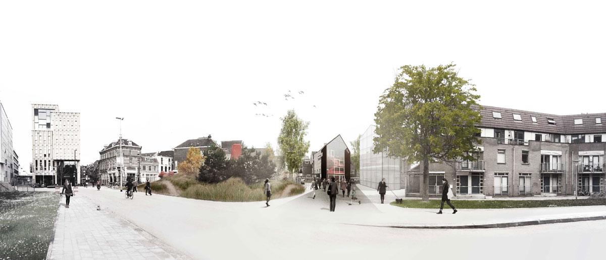 Verbouwing met nieuwbouw Theater aan de Rijn in Arnhem door Nexit