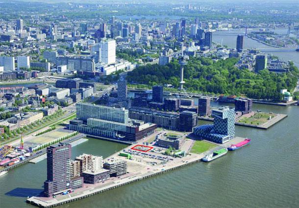 Rotterdamse Toren van Babel op de Lloydpier Laurens Boodt Architect, Rotterdam / AM / Bartels Ingenieursbureau