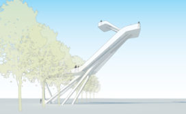 Ontwerp uitkijktoren 'Het Hoge Hert' naar Natuurmonumenten