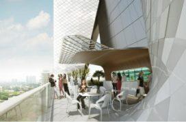 UNStudio geeft Singapore verticale stad