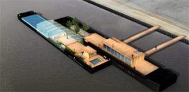 Haalbaarheidsstudie drijvend zwembad Rotterdam