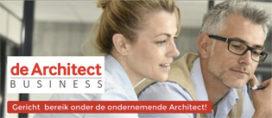 Bereik ondernemende architecten: plaats een vacature op de Architect Business
