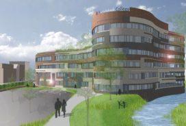 Start bouw Kellebeek College te Roosendaal