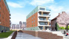 Stadswijk DijleDelta Leuven in aanbouw
