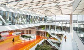 DSM materialen centrum in Geleen door Broekbakema