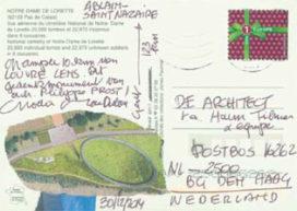 Groeten uit Ablain-Saint- Nazaire: Een ellips met 580.000 namen