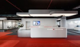Flow Traders HQ Amsterdam door Team V Architectuur