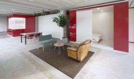 HUB woonconcept voor leegstaande gebouwen door Kraaijvanger Architects