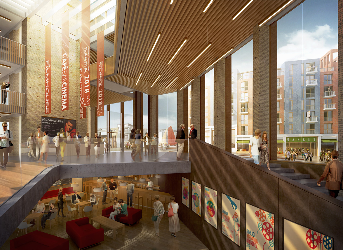 Edinburgh Fountainbridge 7N Architects