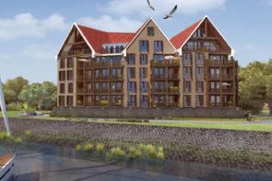Maritieme appartementen in Lelystad