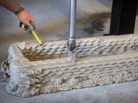 Heijmans maakt 3D-geprinte betonnen bekisting