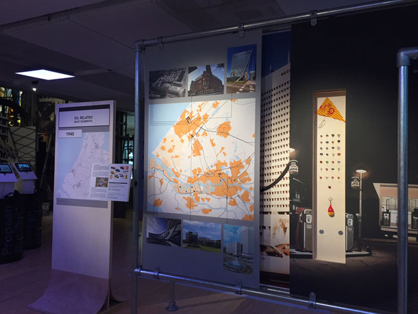 Opinie Harm Tilman Oliedam tentoonstelling Olie en Architectuur