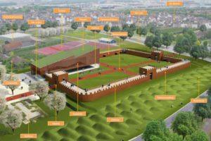 Nieuw fort op Romeinse resten