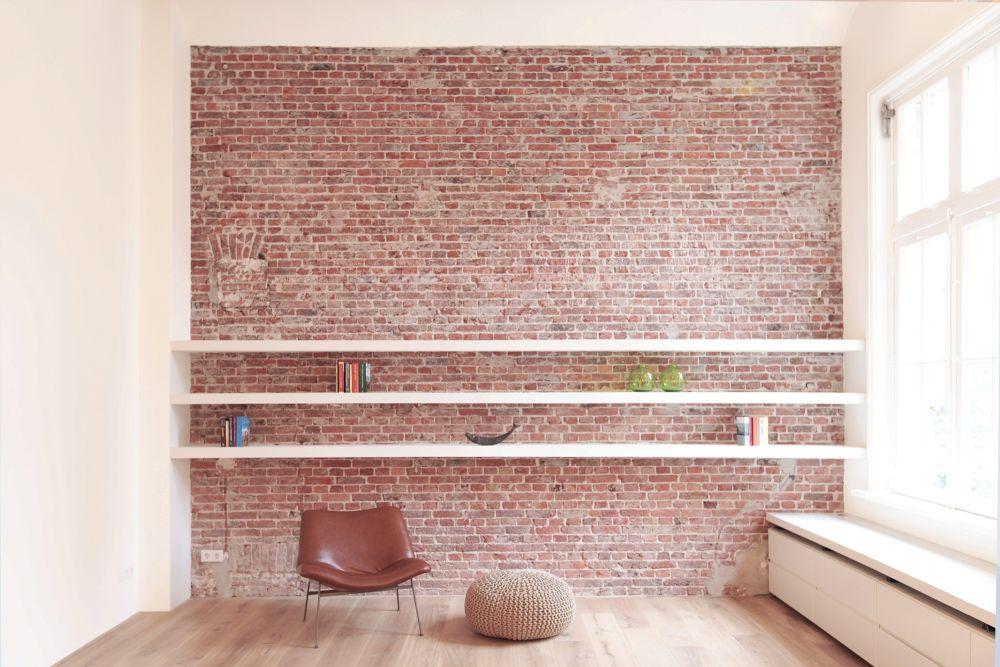 Plattegrond Slaapkamer Renovatie : Renovatie appartement historisch pand amsterdam de architect