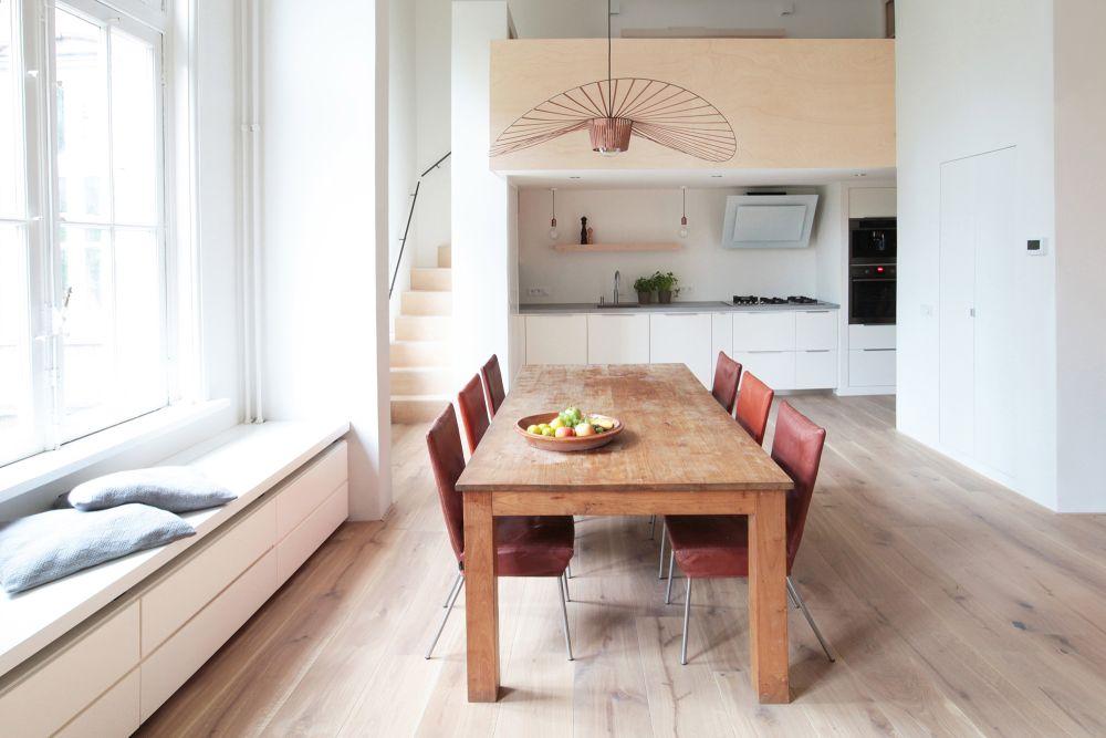 Keuken Plattegrond Open : Renovatie appartement historisch pand amsterdam de architect