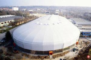 Witte dakbedekking van WeKa